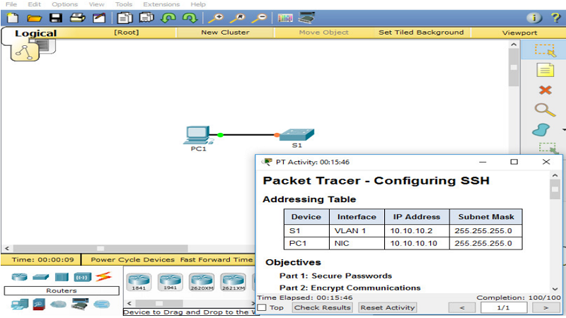 Konfigurasi SSH Version 2 di Cisco Devices
